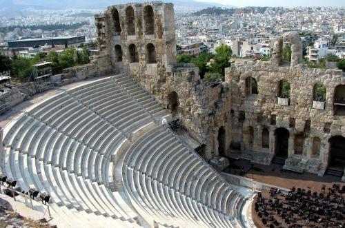 Acropolis Athens theatre