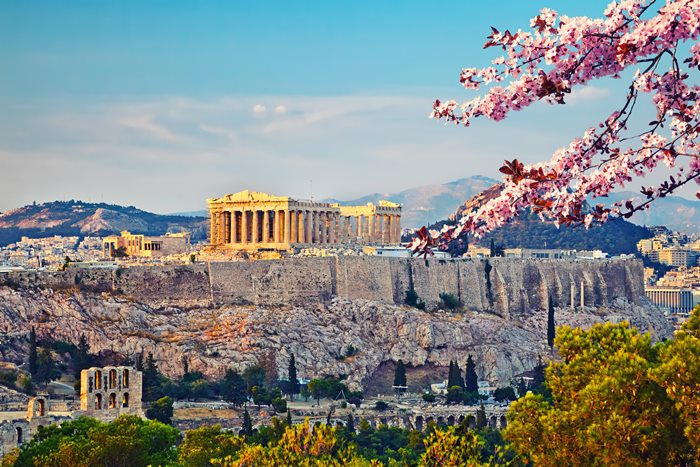 Athens in Spring time