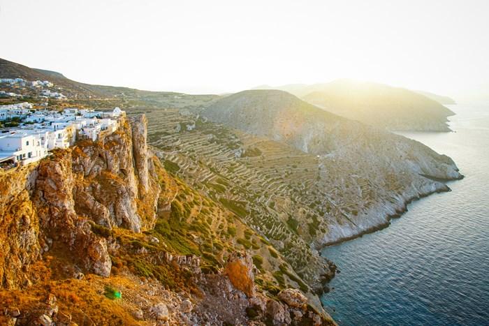 Chora, Folegandros island, Greece