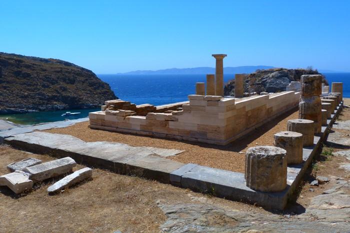Karthea, island of Kea, Cyclades, Greece