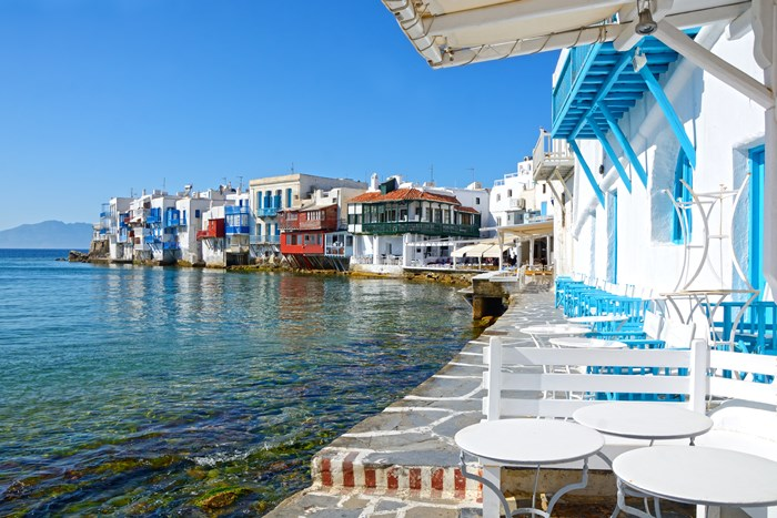 Mykonos in Summer