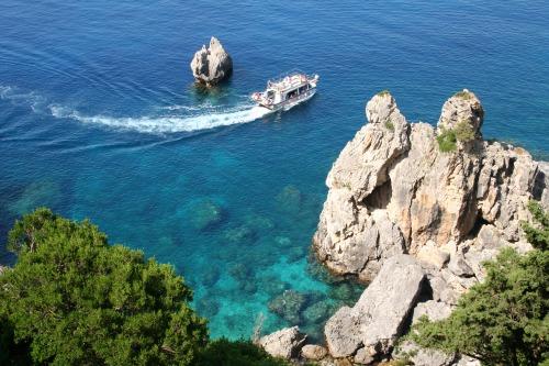 Corfu. Paleokastrica coast