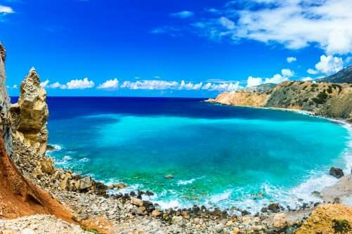 Patmos wild beach