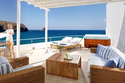 Melian Hotel balcony