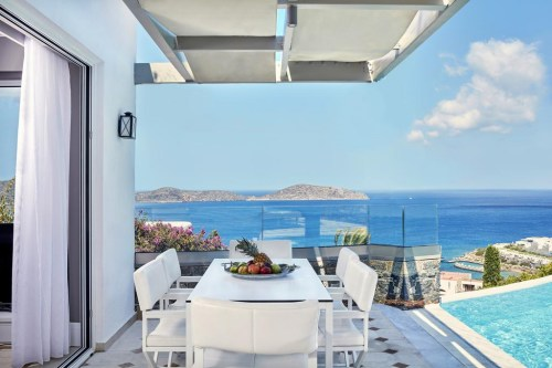 Elounda Gulf Villas & Suites private dining