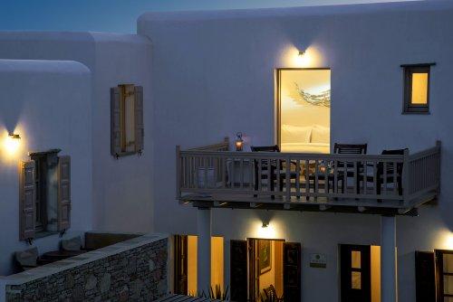 Hotel Kallisti balcony