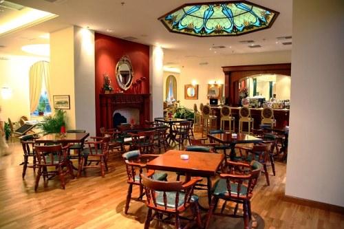 Nafsika Palace dining