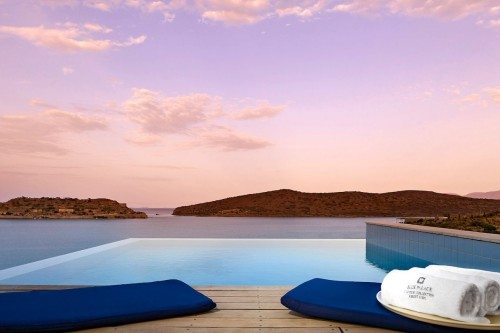 Blue Palace infinity pool