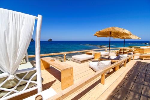 Salt Suites private beach