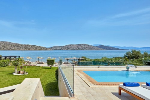 Elounda Gulf Villas & Suites pool view