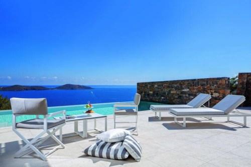 Elounda Gulf Villas & Suites terrace