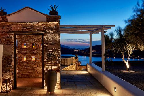 Liostasi Hotel terrace