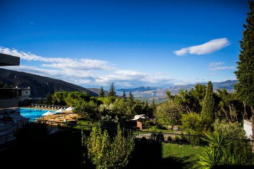 Hotel Amalia Delphi view