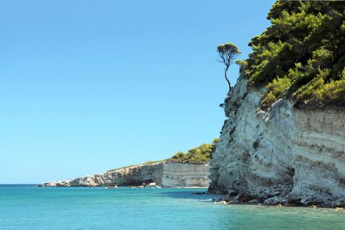 Spartines beach at Alonissos Greece