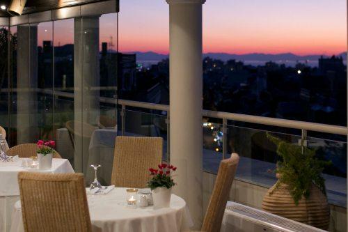 Hera Rooftop restaurant
