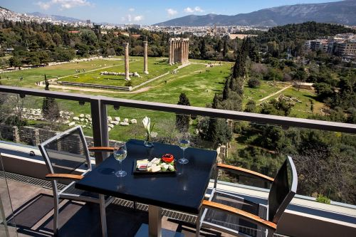 Athens Gate Terrace dining