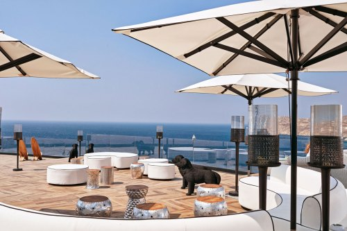 Hotel Royal Mykonian beach bar