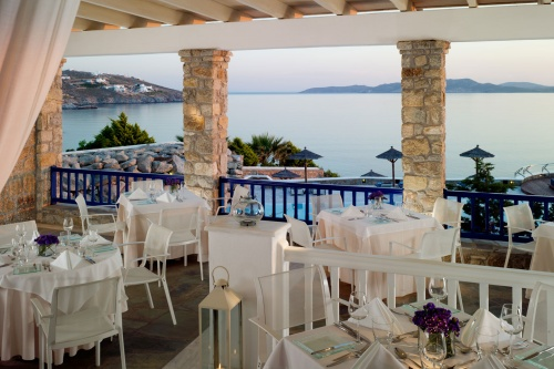 Grand Hotel Mykonos dining