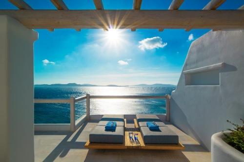 Grand Hotel Mykonos terrace