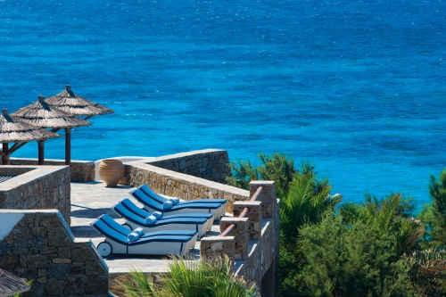 Grand Hotel Mykonos sundeck