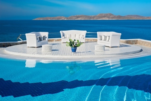 Grand Hotel Mykonos main pool