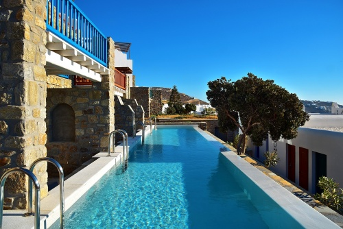 Grand Hotel Mykonos pool