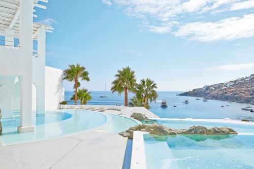 Mykonos Blu Hotel pool
