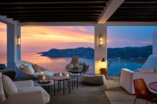 Myconian Avaton lounge