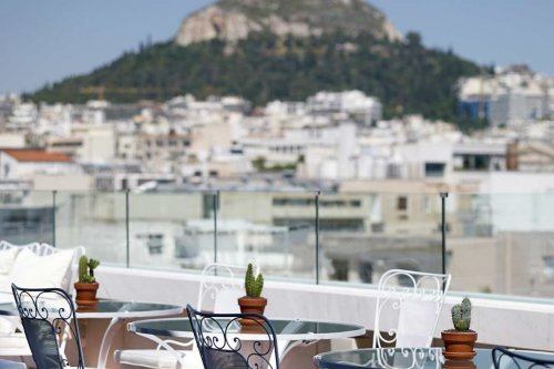 New Hotel Athens rooftop bar