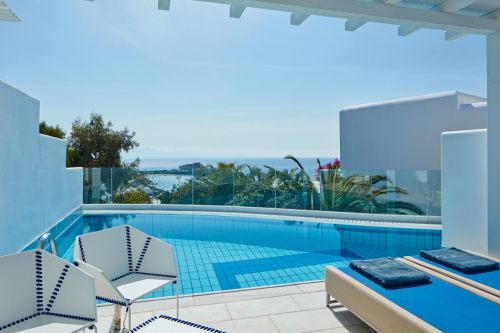 Myconian Ambassador private pool