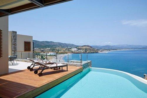 Lindos Blu balcony