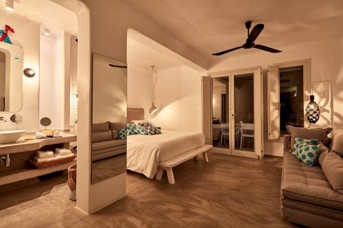 Hotel Boheme room