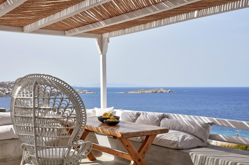 Hotel Boheme balcony