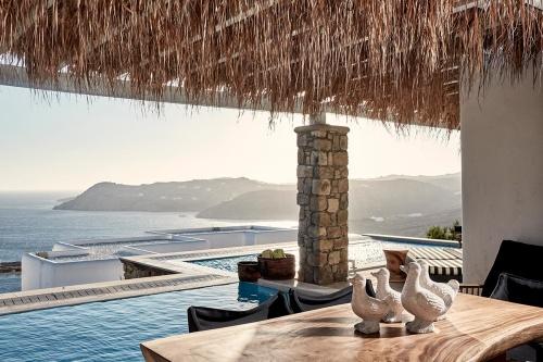 Myconian Villa Collection terrace