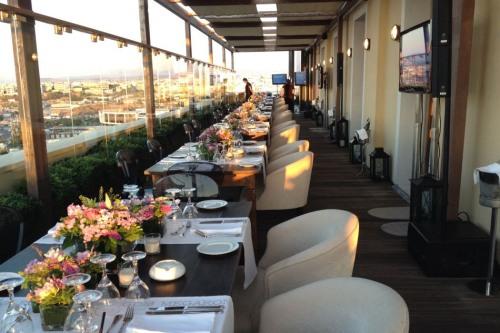 GDM Megaron rooftop restaurant