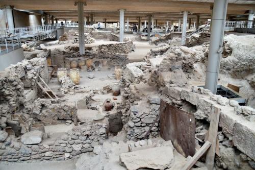 Akrotiri Excavation Site