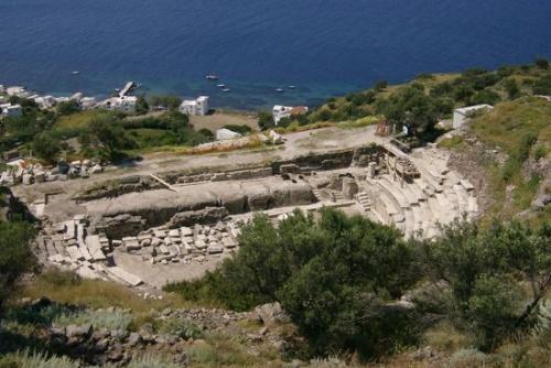 Ancient Theater and Venus de Milo Site