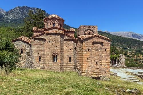 Church Of Agia Sofia in Mystras, Greece