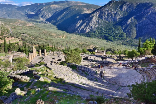 View from the Delphi Theater