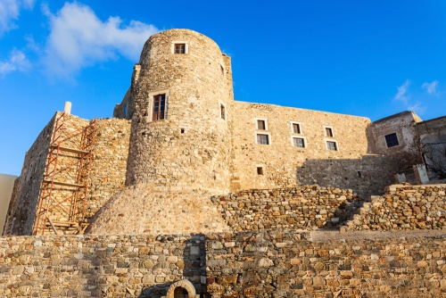 Naxos Kastro old town