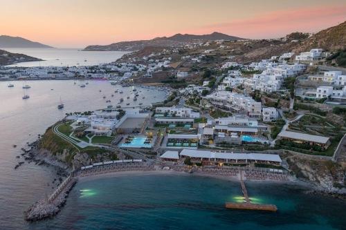 Santa Marina Hotel aerial view