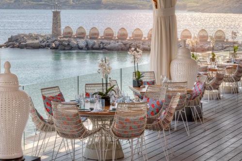 Santa Marina Hotel dining