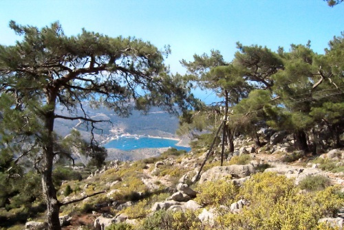 Symi hiking