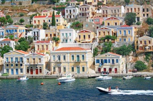 Greece. Dodecanesse. Island Symi