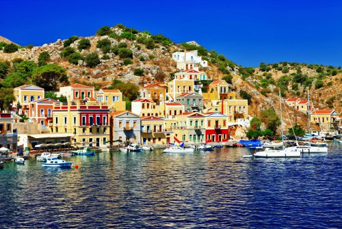 holidays in beautiful Greek islands, Symi