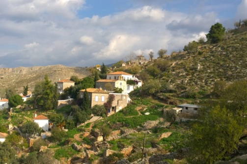 Explore hydra by hiking