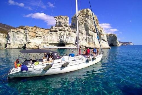 milos boat tours
