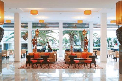 Creta Palace lobby