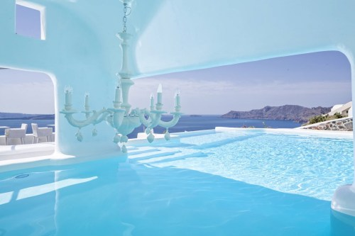 Canaves Oia hotel pool