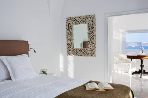 Canaves Oia hotel room